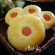 小小熊爪面包的做法