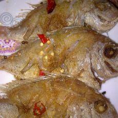 干煎赤棕鱼