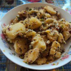 葱香芝麻土豆