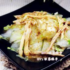 芥末鸡丝渍白菜的做法