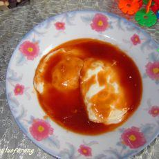 糖醋荷包蛋的做法