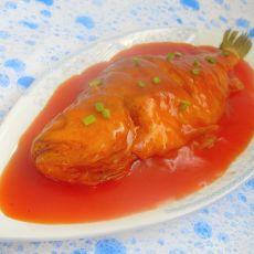 茄汁黄花鱼