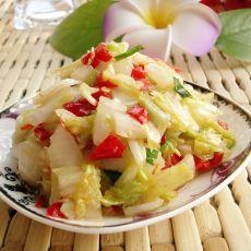 糖醋剁椒生拌白菜的做法