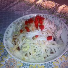 凤尾白菜的做法