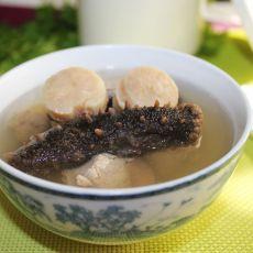 海参瑶柱炖瘦肉