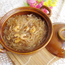 虾仁粉条煲
