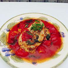 番茄焖鸡胸肉