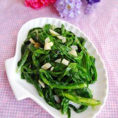 蒜蓉炒翡翠甜麦菜