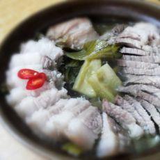 咸菜猪肉煲