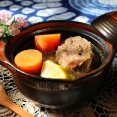 青红萝卜牛肉汤