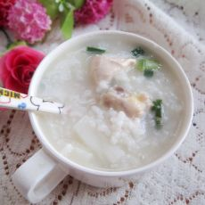 淮山鸡粥的做法