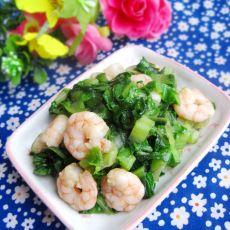 虾仁炒生菜的做法