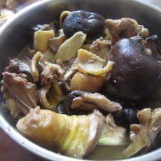香菇油水鸡