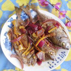 洋葱焖泥猛鱼的做法