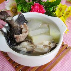 冬瓜煲鬼婆鱼汤