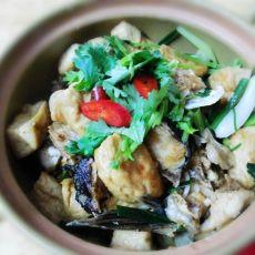 鱼头豆腐煲的做法