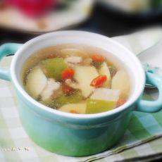 春笋枸杞瘦肉汤的做法