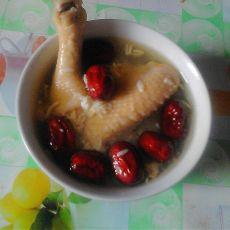 甜米酒鸡汤