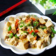 青豆牛丸烩豆腐