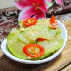 虾皮炒西葫芦的做法