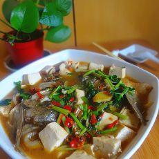 剁椒煮鱼头豆腐