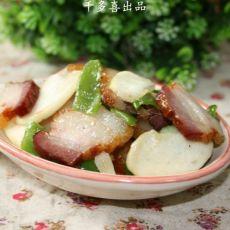 高笋炒腊肉