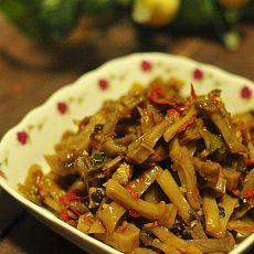 剁椒炒刀豆干