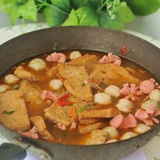 鱼丸豆腐火锅