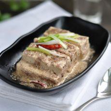虾酱炖豆腐的做法