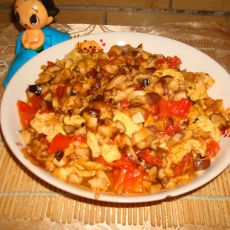 香菇番茄炒蛋