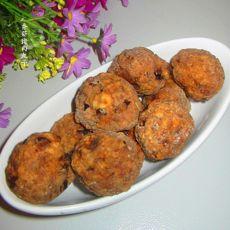 香菇猪肉丸子的做法