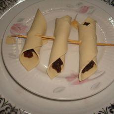 香菇酱豆皮卷