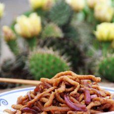 京酱肉丝的做法