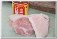 蒜香腐乳肉的做法步骤:1