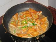 蒜香豆腐的做法步骤:6