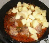 土豆炖排骨的做法步骤:11