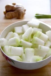 素烧冬瓜的做法步骤:1