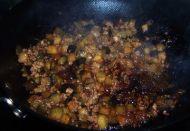香辣肉末茄丁的做法步骤:6