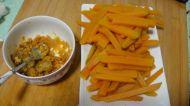 蛋黄焗南瓜的做法步骤:3