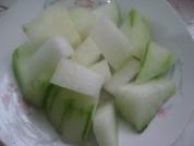 【原创首发】蒜泥冬瓜的做法步骤:1
