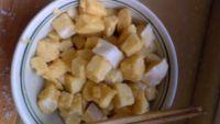 酱炒馒头的做法步骤:3