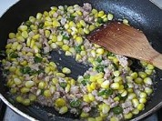 玉米粒炒肉泥的做法步骤:13