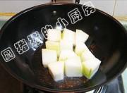 豆豉烧冬瓜的做法步骤:3