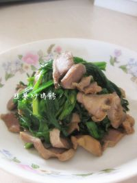 韭菜炒鸡胗的做法步骤:8
