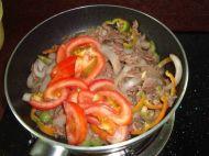 杂蔬炒牛肉的做法步骤:7