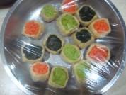 豆腐雕鱼彩蔬盅的做法步骤:6