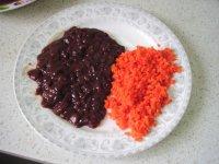 猪肝胡萝卜菠菜面的做法步骤:3