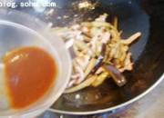 鱼香茄子的做法步骤:10
