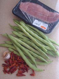 干煸四季豆的做法步骤:1