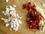 干煸四季豆的做法步骤:5